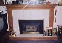 Gas Fireplace by RM Contracting